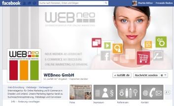 Facebook Profil von webneo.de