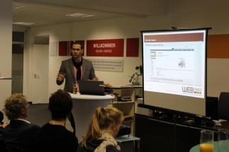 Internetagentur Dresden - Presseclub Dresden zu Gast bei WEBneo