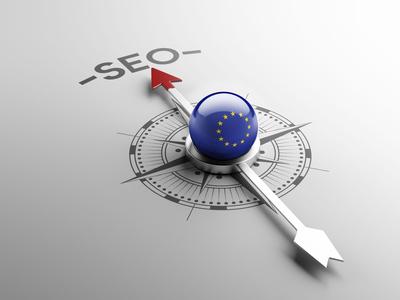 European Union Seo Concept