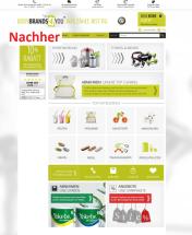 Startseite nach Optimierung Bodybrands4you.de