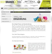Blog für bodybrands4you.de