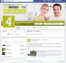 Facebook Seite für bodybrands4you.de