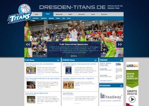 Webdesign Agentur Referenz Titans