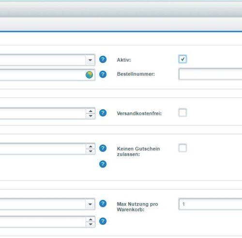 Advanced Promotion Suite Rabatt Feature Backend