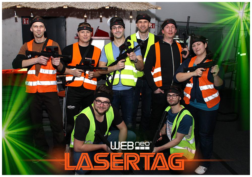 Teamevent Lasertag
