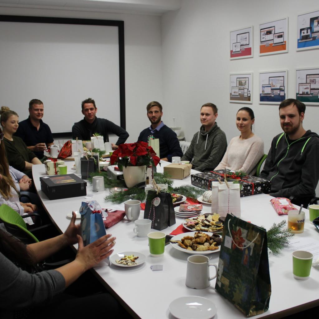 WEBneo Teamevent Weihnachten 2017