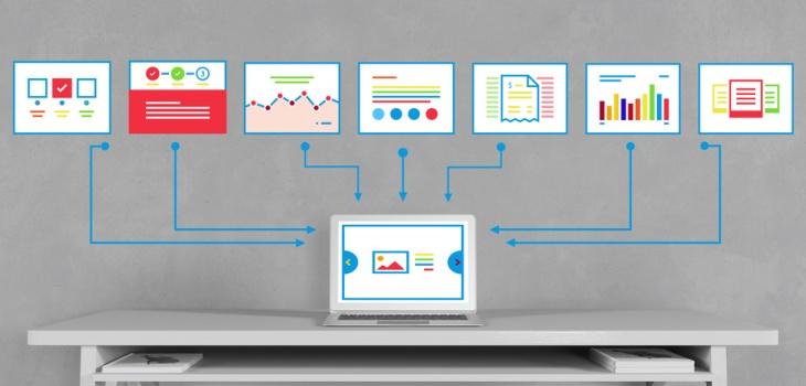 Webdesign Analyse für SEO Prozess an der Wand