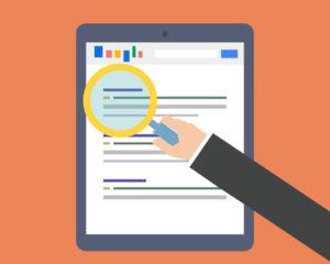 Google Search - Suchergebnisliste