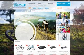 Onlineshop erstellen für Der-Dynamo