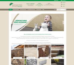 Onlineshop erstellen für Natursteinzentrum