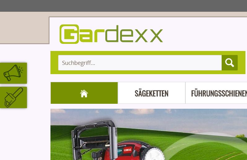 Gardexx.de JTL-Wawi und Shopware Intelligente Suchfunktion