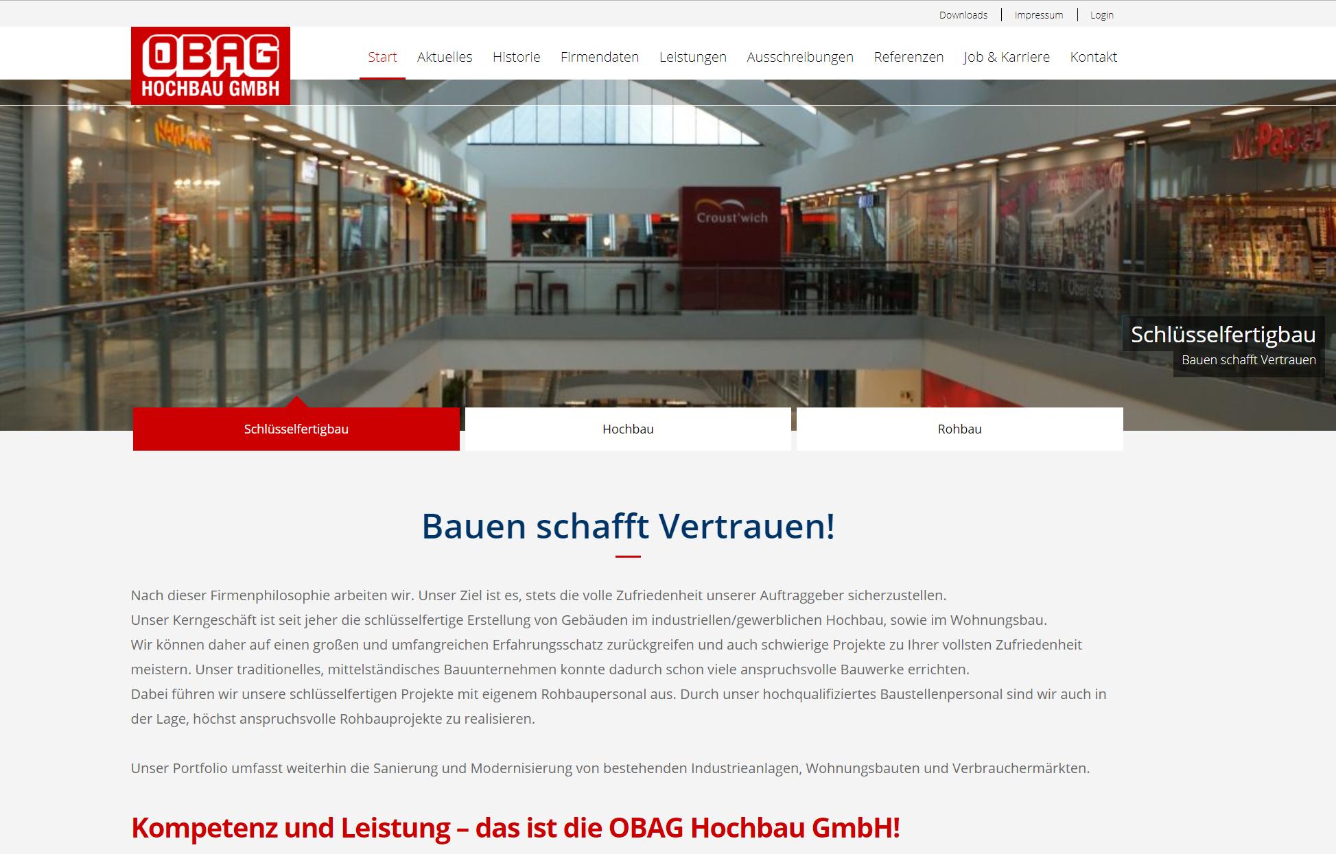 Beispiel der Webagentur WEBneo