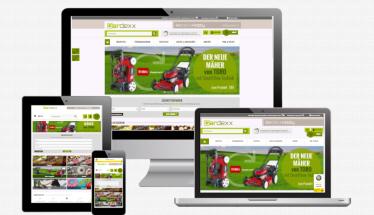 Onlineshop erstellen für Gardexx