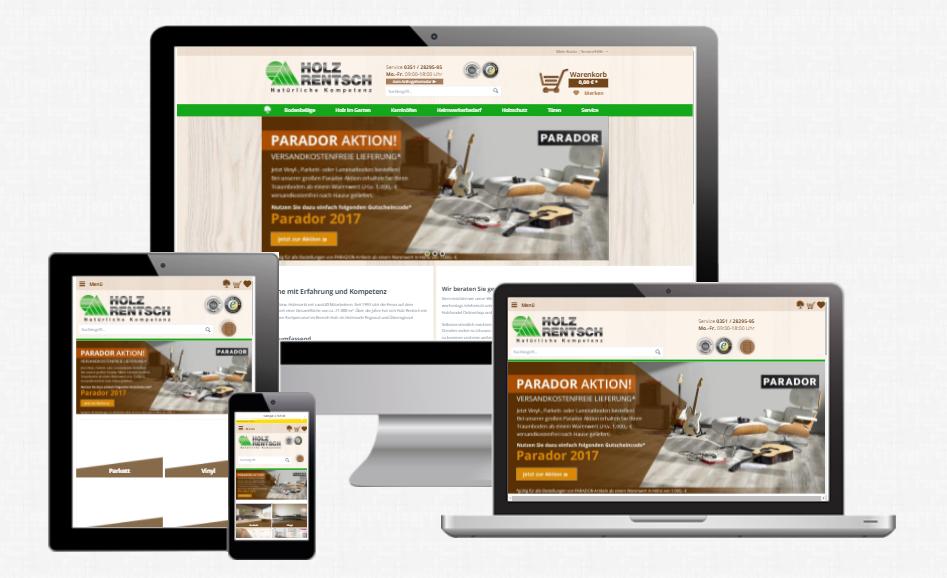 Responsive Webdesign Agentur WEBneo Holz Rentsch