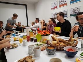 WEBneo Teamfrühstück