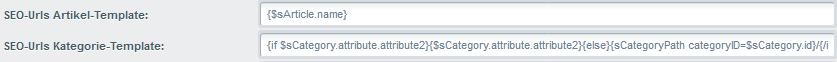 Sprechende URLs für SEO im Shopware Shop