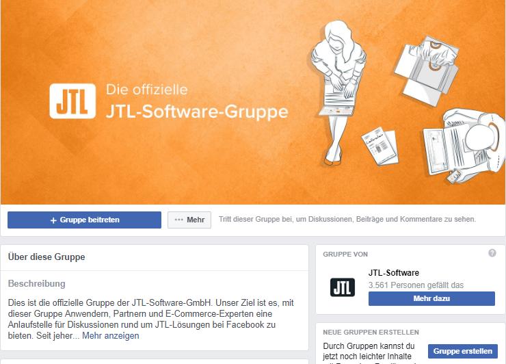 JTL-Facebook-Gruppe