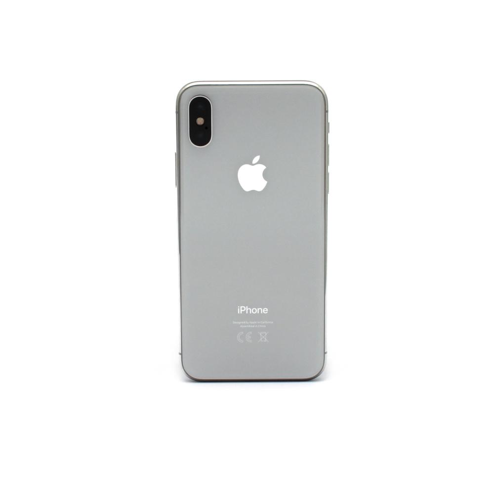 produktfotografie- beispiel für iPhoneX-silber