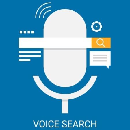 Voice Search Bild Blogbeitrag