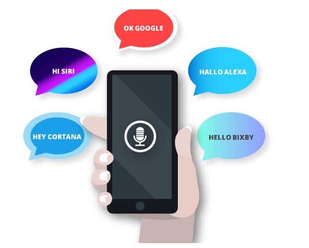 Voice Search - Sprachassistenten