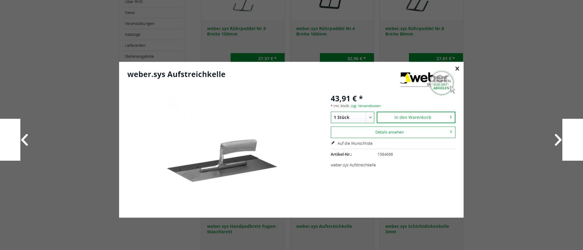 Click&Collect auf www.rhg.de