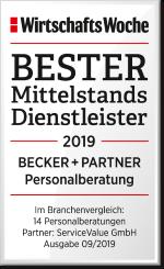 WiWo Bester Mittelstandsdienstleister BECKER_+PARTNER