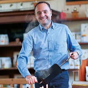 Thomas Eckel, Geschäftsführer Green Cup Coffee