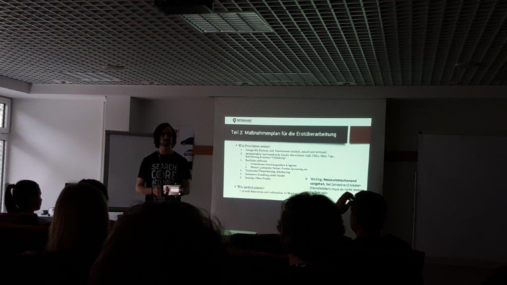Gabriel Gelman Lokale Suchmaschinenoptimierung Vorstellung unseres agenturinternen Ablaufes bei der lokalen SEO