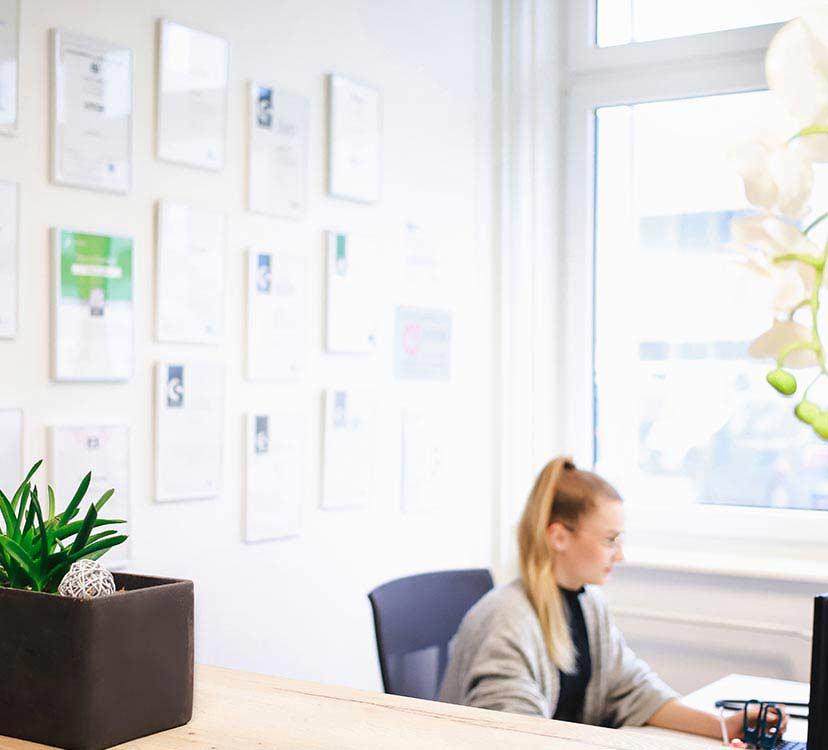 WEBneo Büro - Empfang
