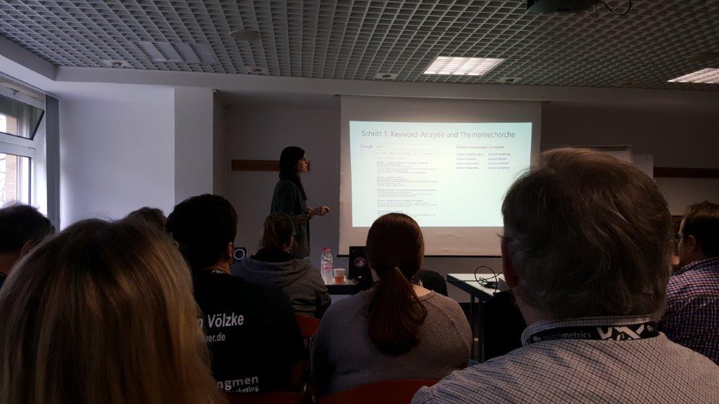Maximiliane Mehnert Content Optimierung – von der Keywordanalyse zur Texterstellung