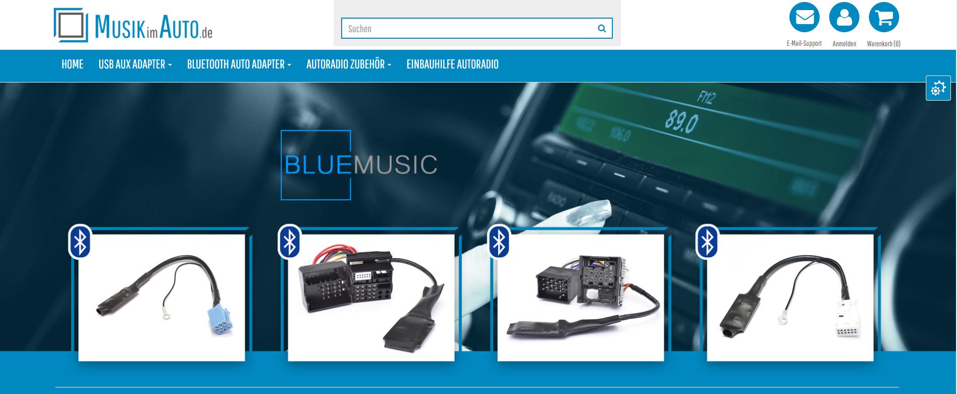 MusikimAuto-JTL-Shop-Startseite