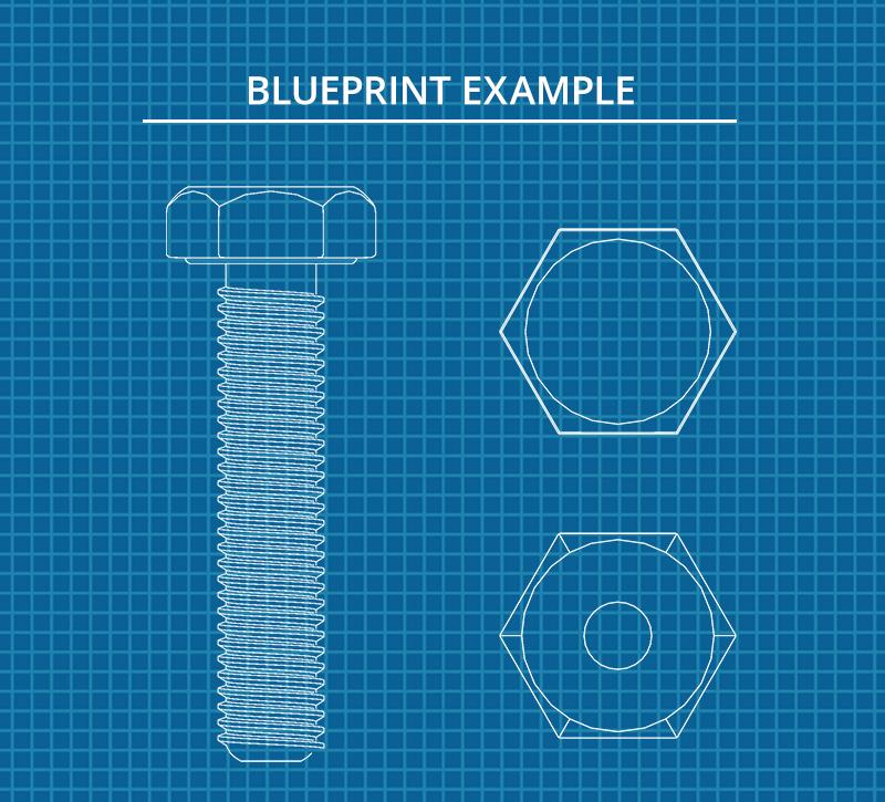 Beispiel für Blueprint