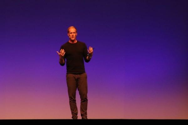 Johannes Altmann beim Shopware Community Day 2019
