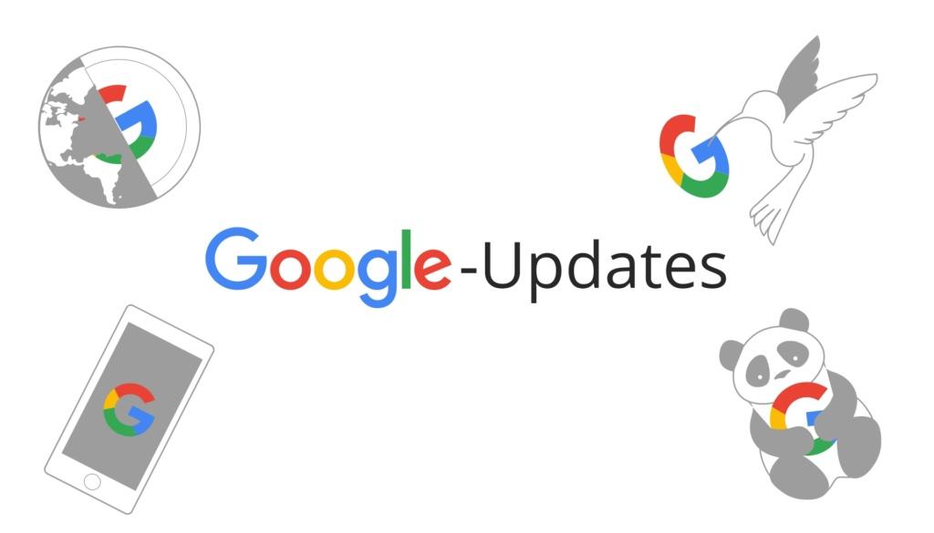 Google-Updates-Uebersicht