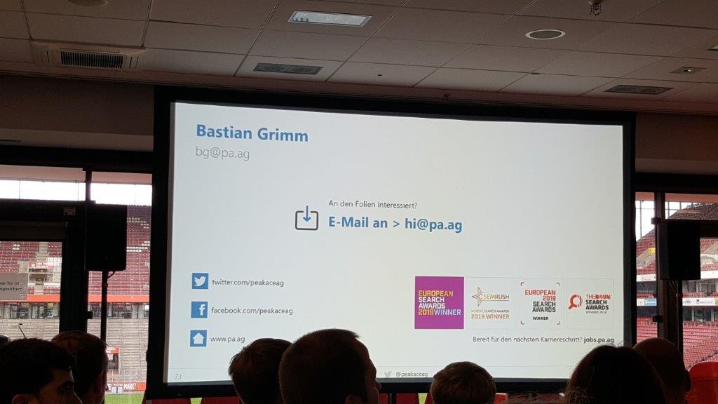 01 Speaker Sebastian Grimm SEO Day 2019